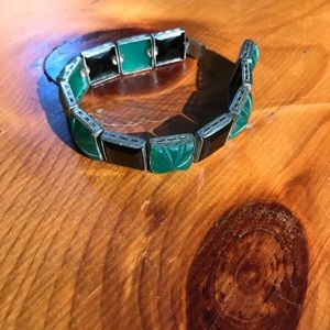 Amazing Art Deco Segmented Bracelet